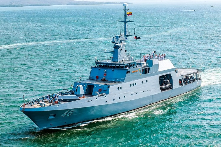 ARC 20 de Julio OPV-80 Cotecmar Armada Nacional