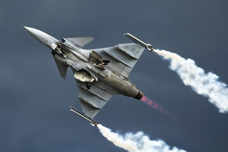 JAS 39 Gripen E Flight Demonstration